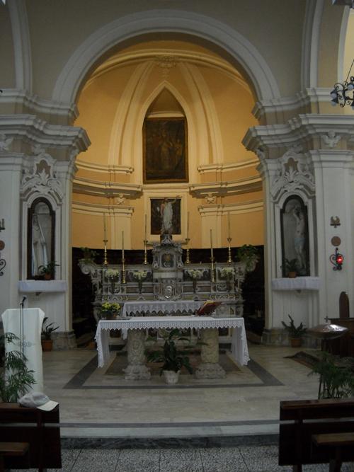 San Nicola Policastro altare
