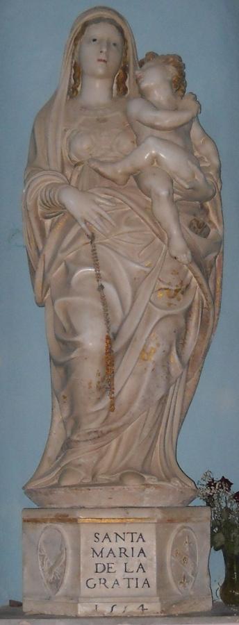Santa Spina Policastro statua
