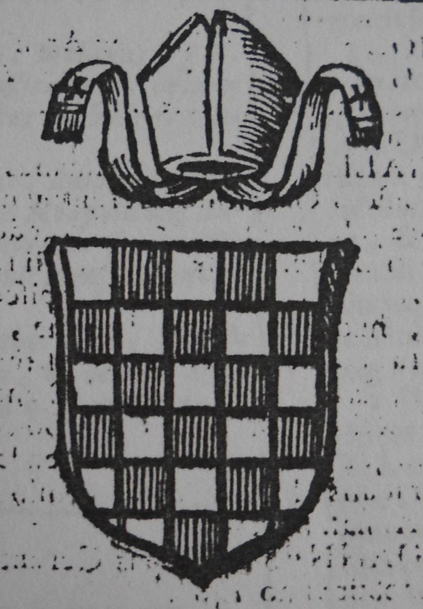 arme del vescovo taddeo pepulo di cerenzia
