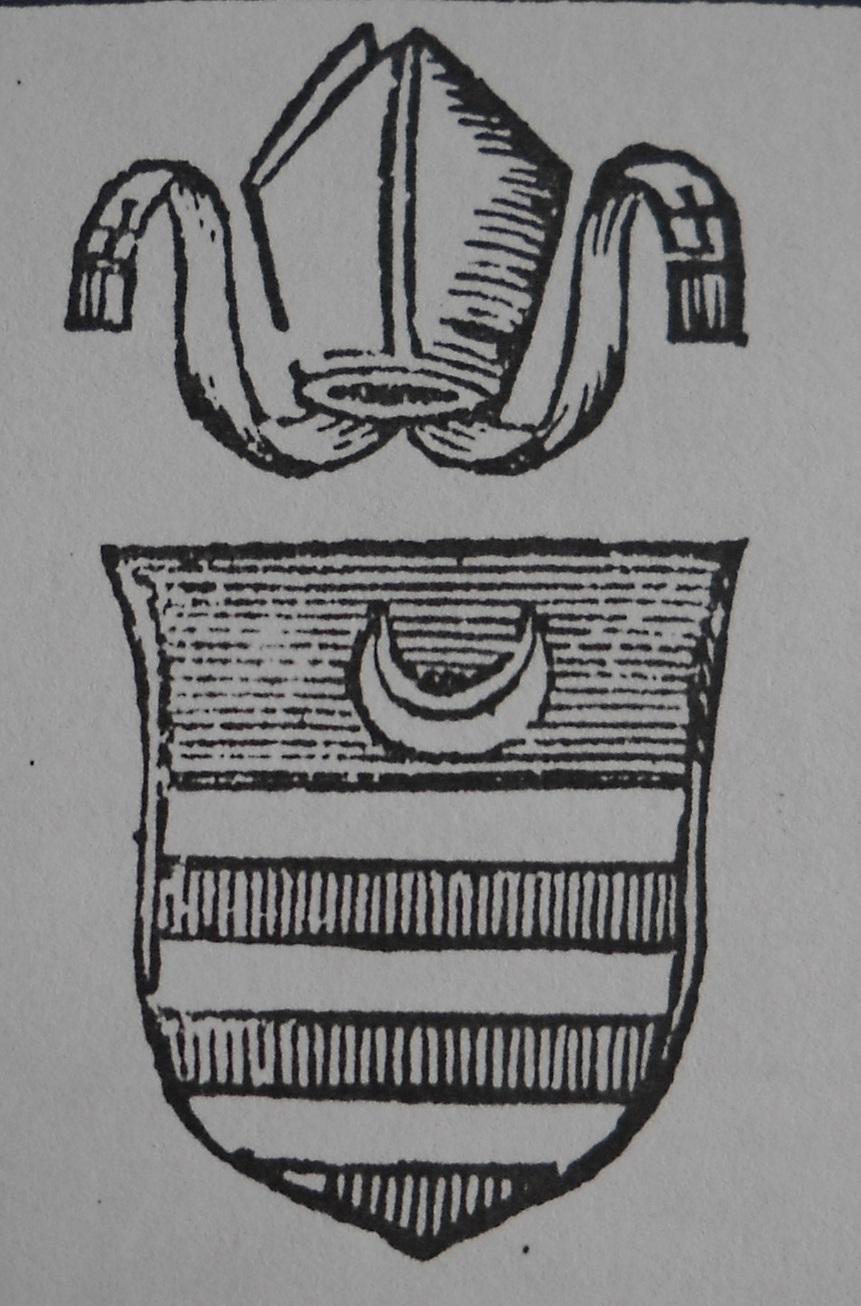 arme vescovo Pudericus Umbriatico