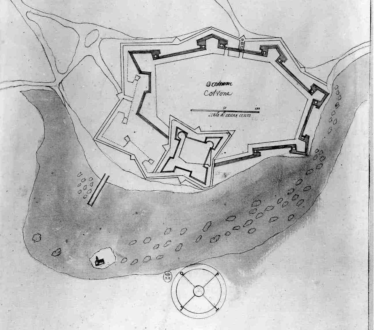 Pianta di Crotone