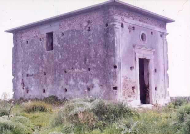 chiesetta sopra la torre di posteriore