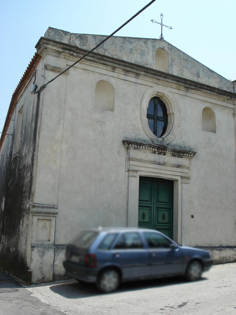 001 Santa Severina chiesa di Santa Maria della Grazia con cappella dei Barracco