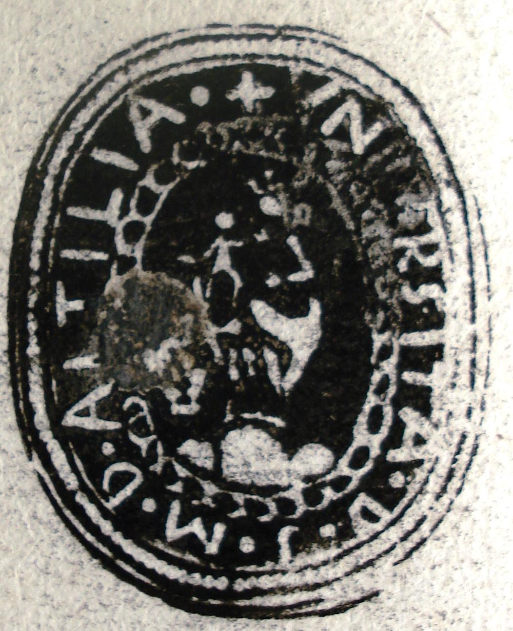 006 Sigillo dell'Uuiversità di Altilia