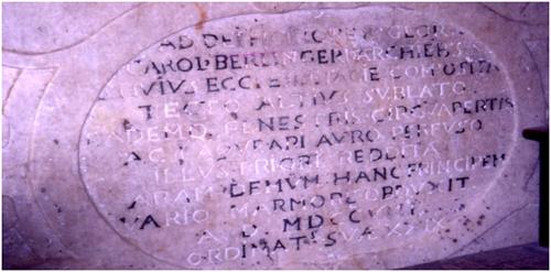 iscrizione cattedrale S. Severina