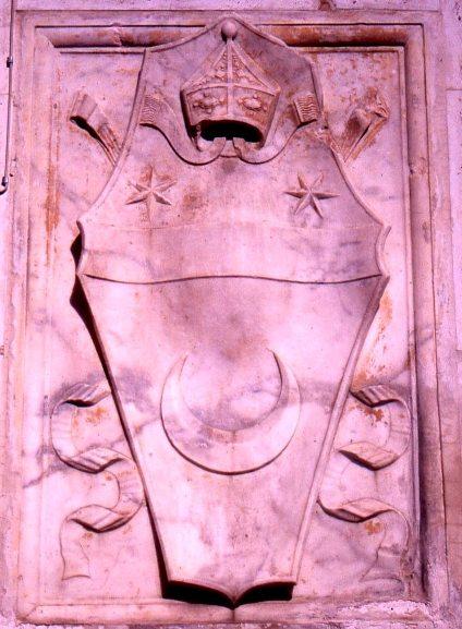 Arme del vescovo Antonio Lucifero