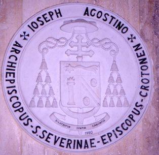 Arme del vescovo Giuseppe Agostino