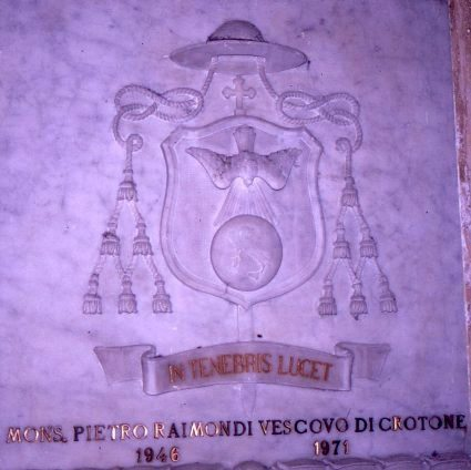 Arme del vescovo Pietro Raimondi
