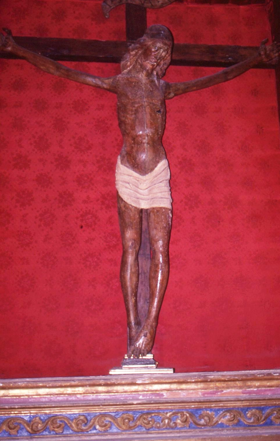 Crocifisso ligneo Santa Severina