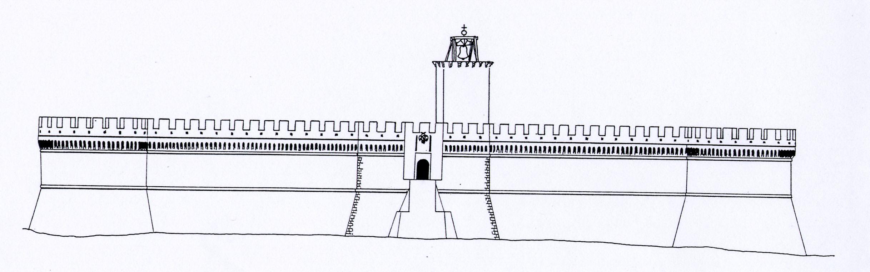Crotone castello prospetto
