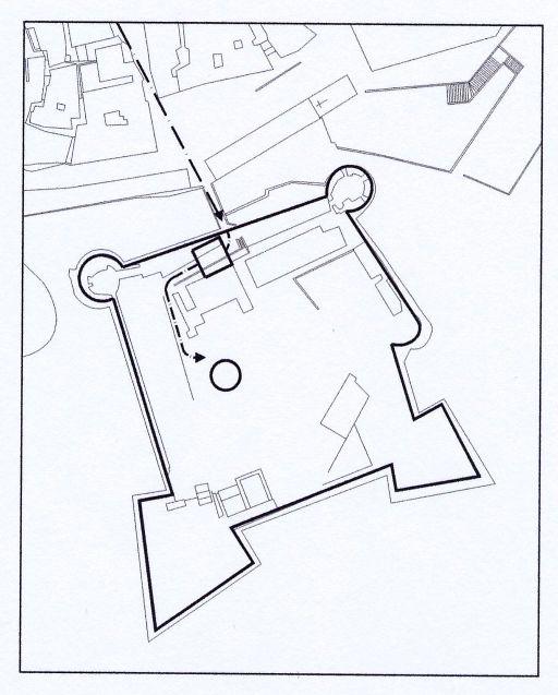 Crotone ingresso castello