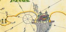 Crotone mappa di Piri Reis 1525