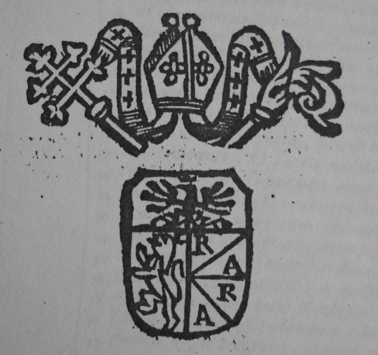 arme arcivescovo Caffarelli Santa Severina