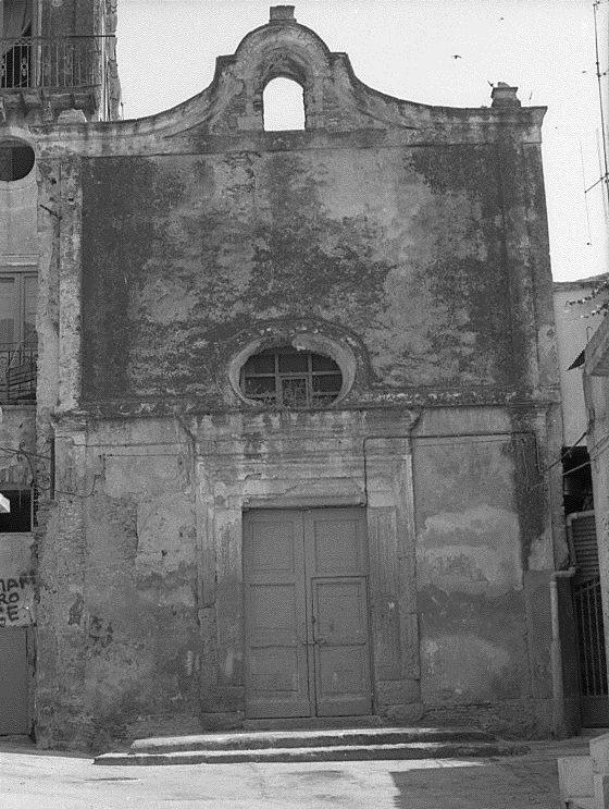 La chiesa del purgatorio di crotone  prima del restauro