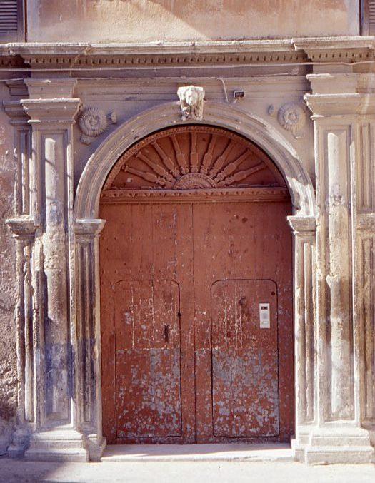 Palazzo Berlingieri(portale)