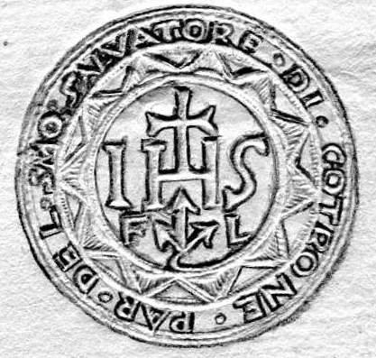 Sigillo della chiesa del SS Salvatore