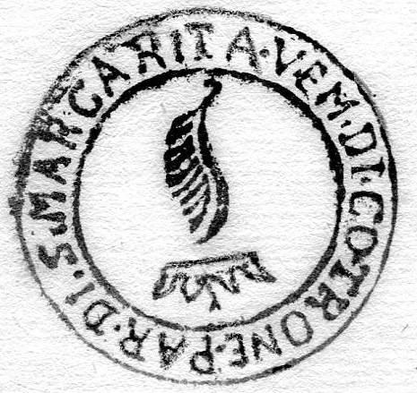 Sigillo della parrocchia di Santa Margherita