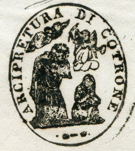 Sigillo dell'arcipretura di Crotone