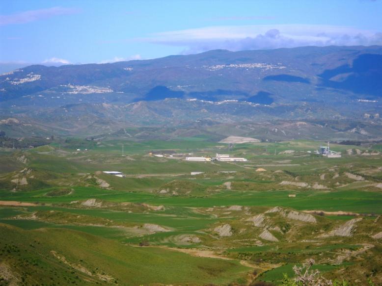 Valle del Tacina direzione Belcastro