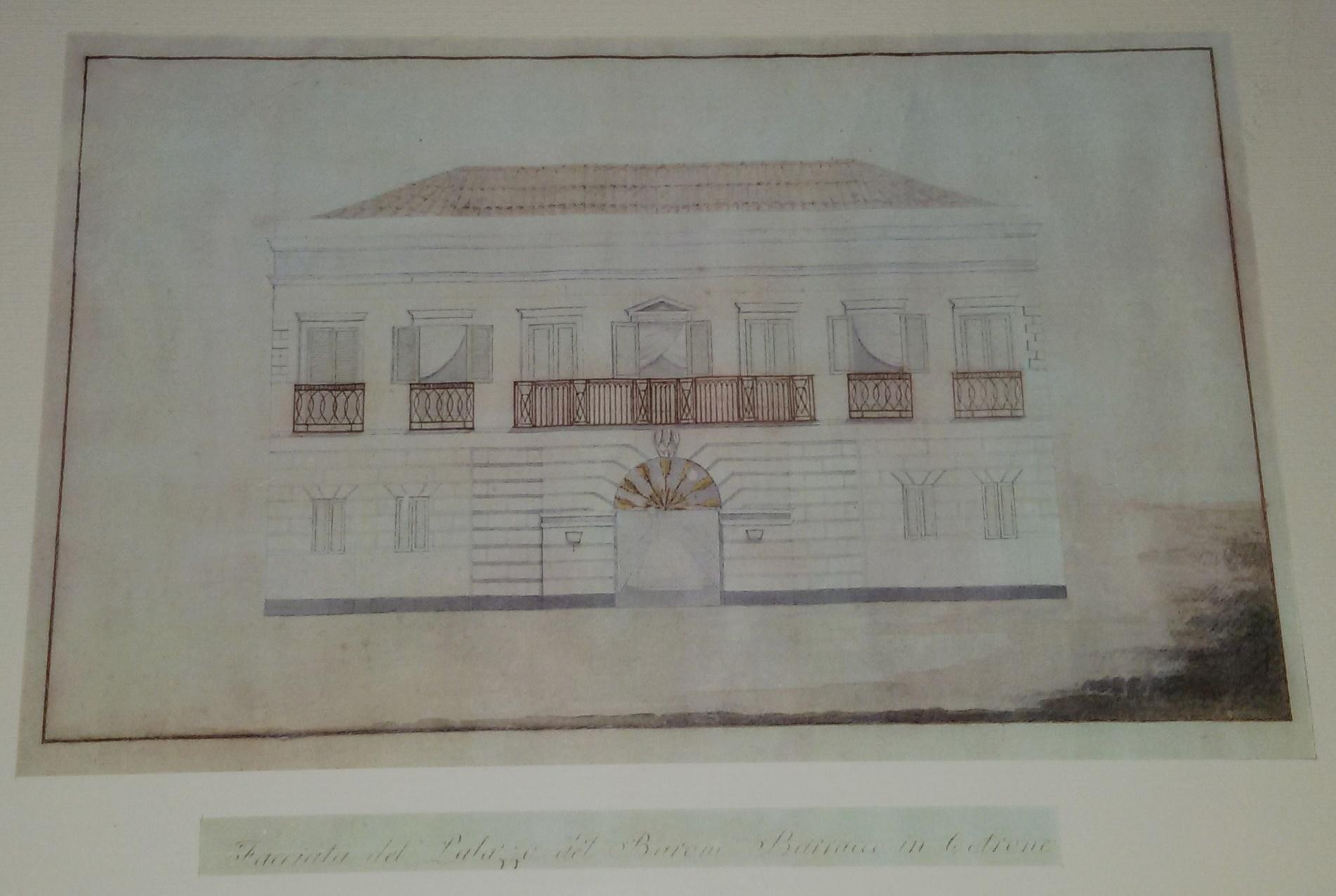 palazzo barracco disegno