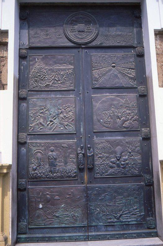 portale principale cattedrale Crotone