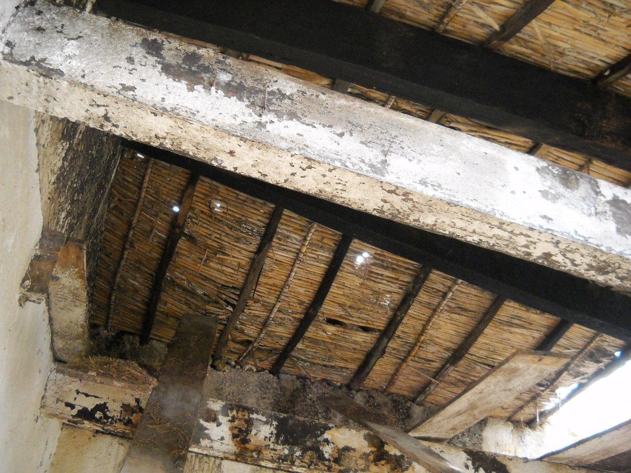 particolare costruttivo tetto antico