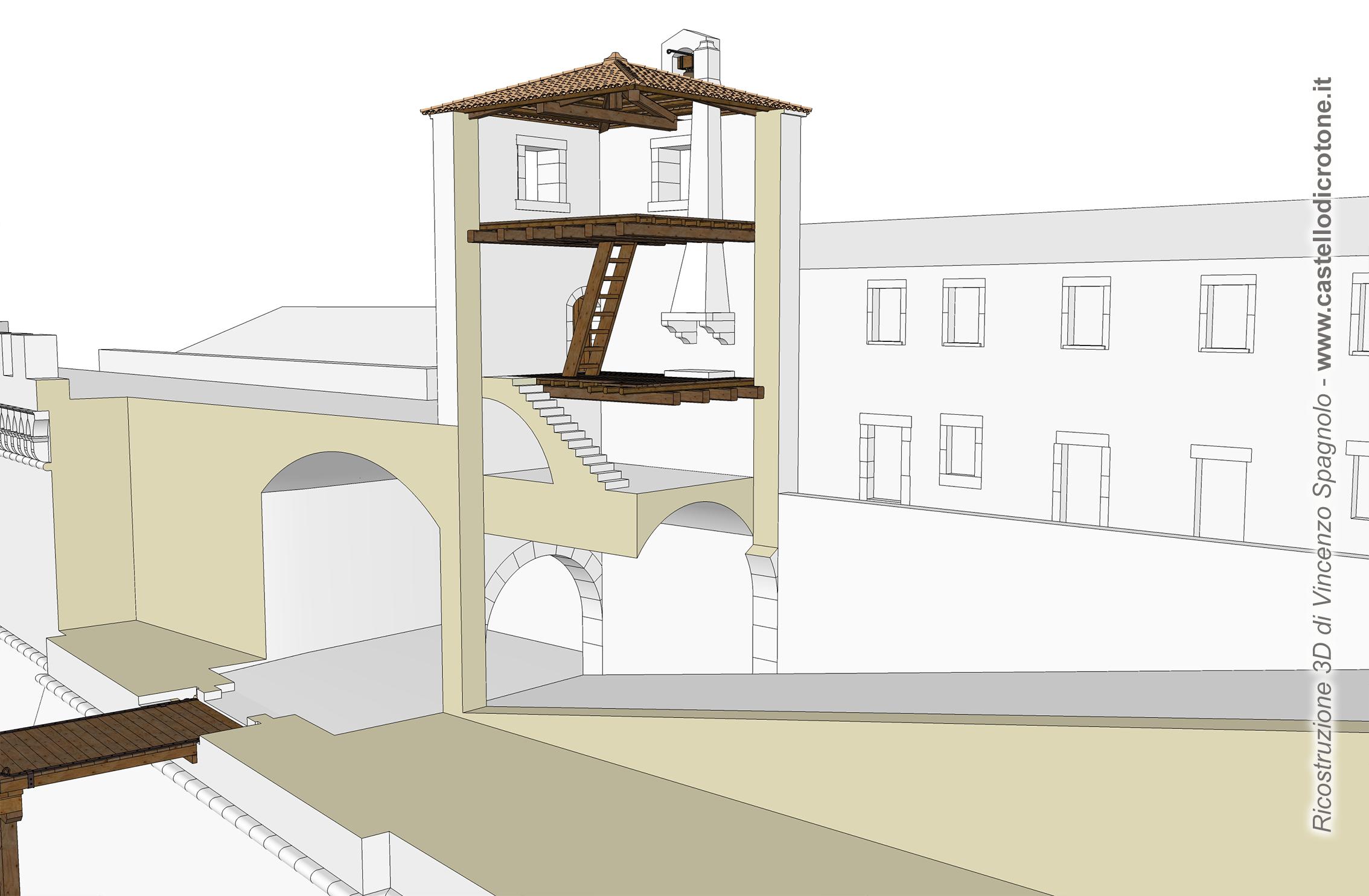 torre copro di guardia castello crotone enzo spagnolo