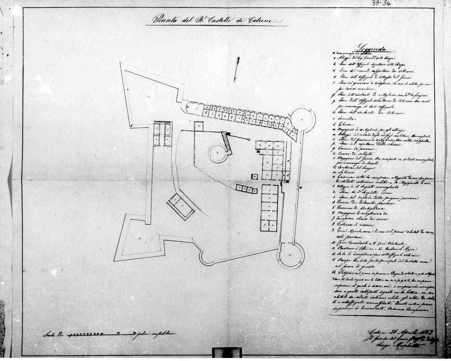 Castello Crotone 1859