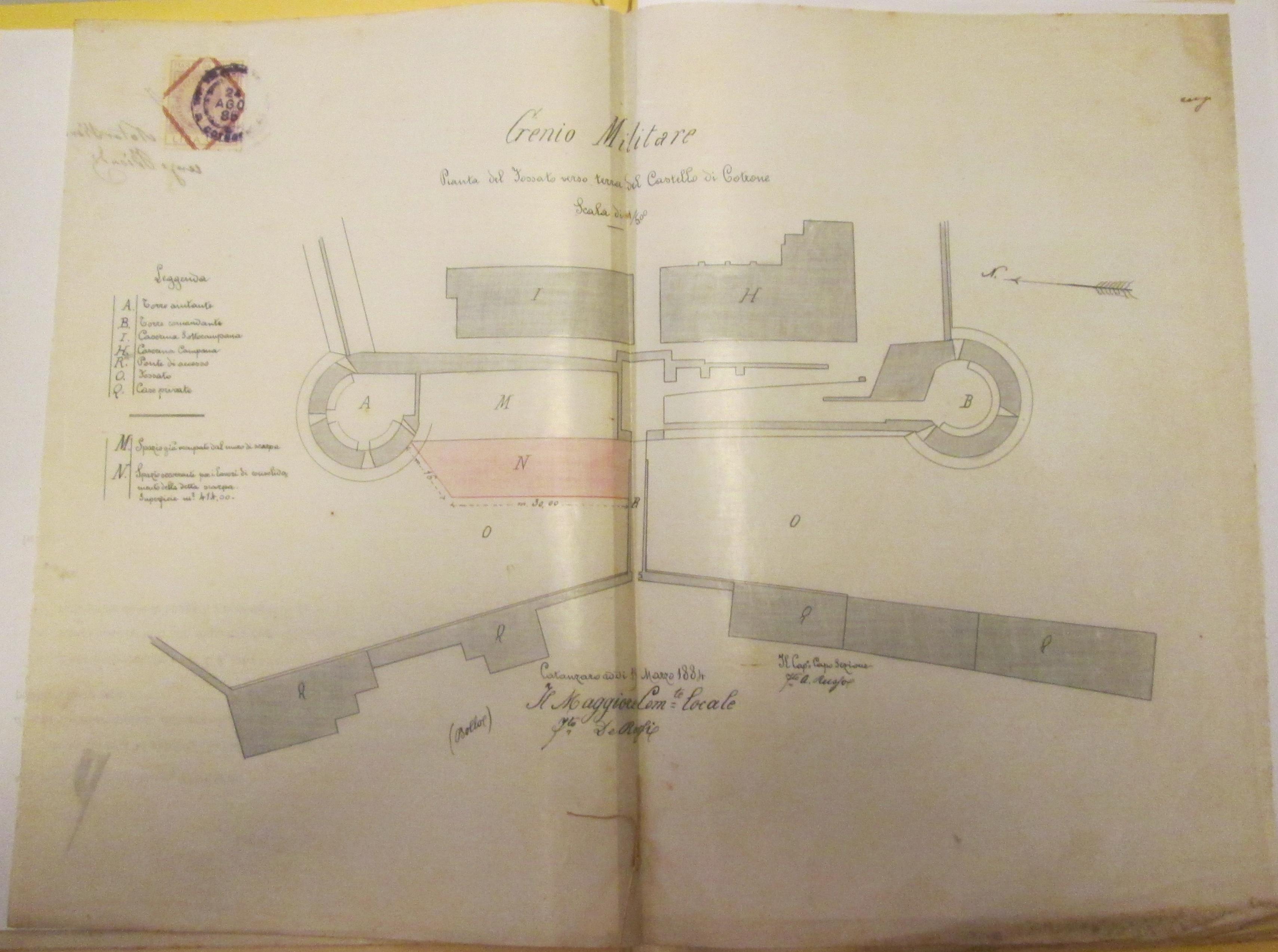 castello Crotone 1884