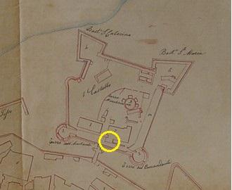 Pianta di Crotone Metà Ottocento