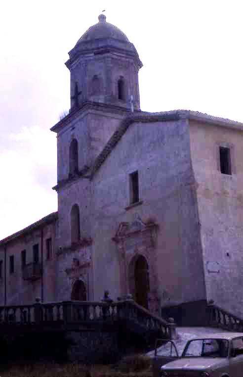 Il convento Santa Spina Policastro anni '70