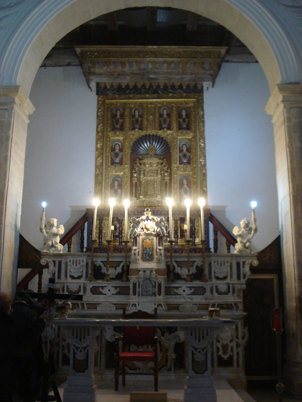 altare maggiore Santa Maria della Spina Policastro