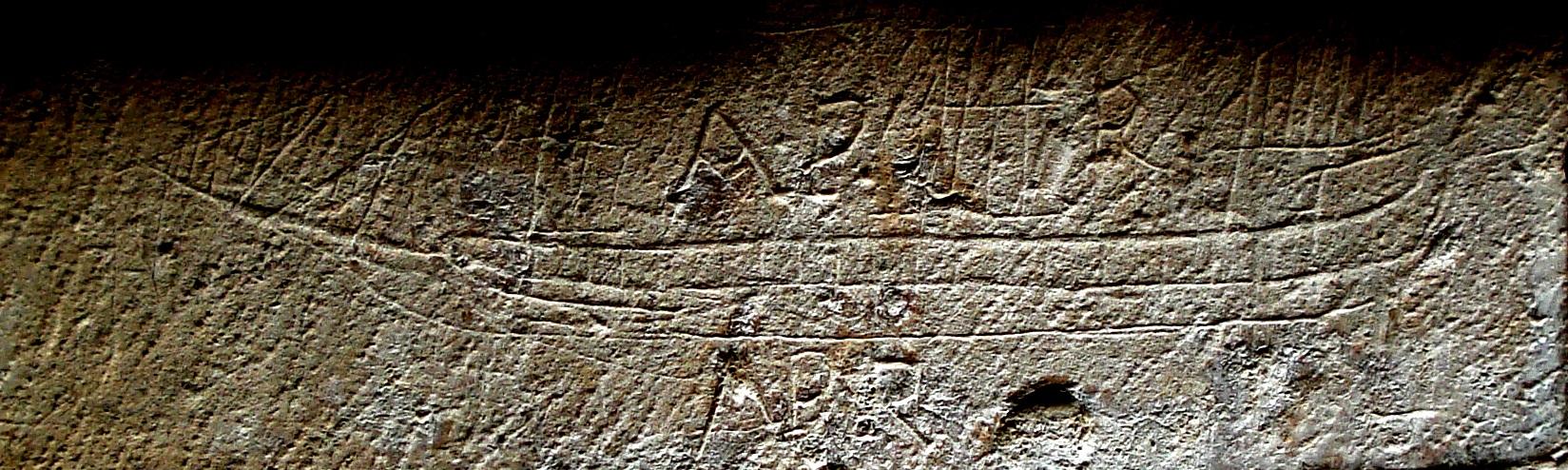 Graffito nave castello di scilla