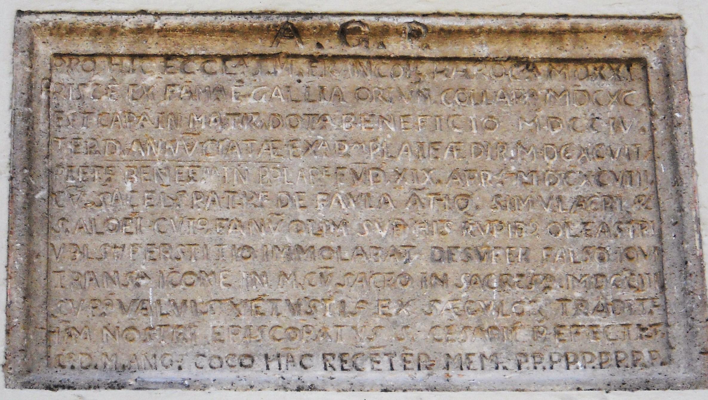 policastro epigrafe