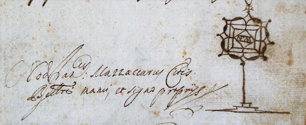 firma notaio Mazzacaro Belcastro